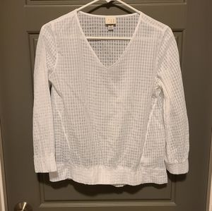 A new day white blouse size XS